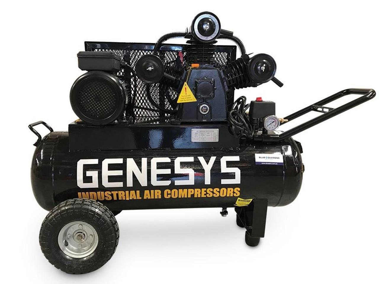Electric Piston Air Compressor, Portable.
