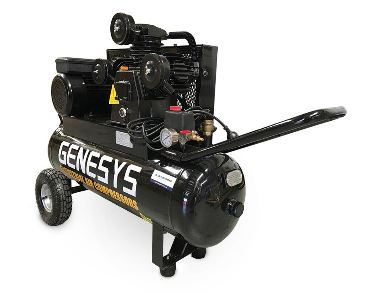 Piston Air Compressors suited for variable air demand in low to medium volumes