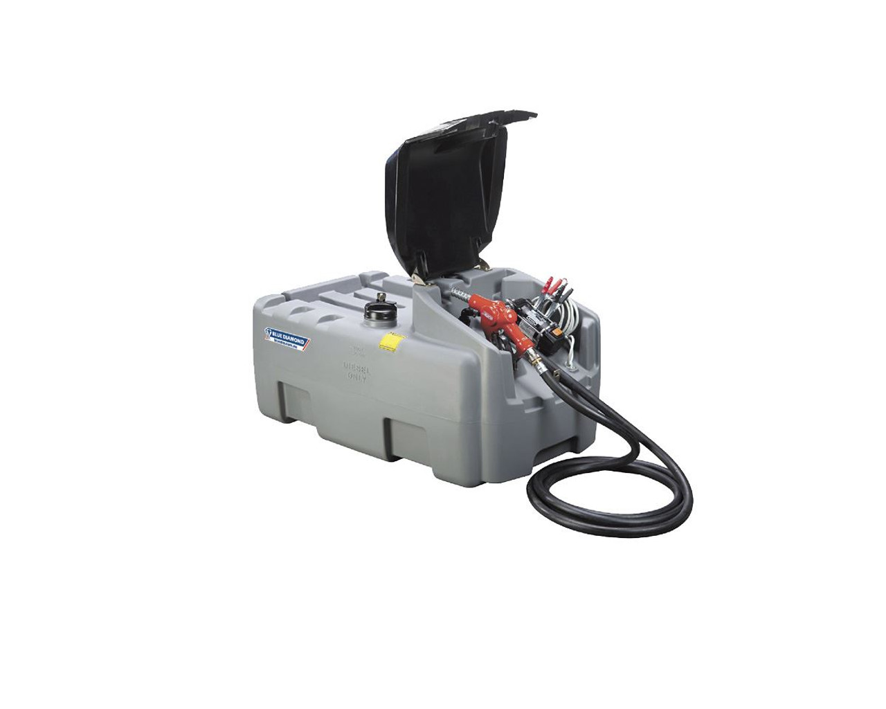 200L Portable Diesel Fuel Tank with 12V Pump