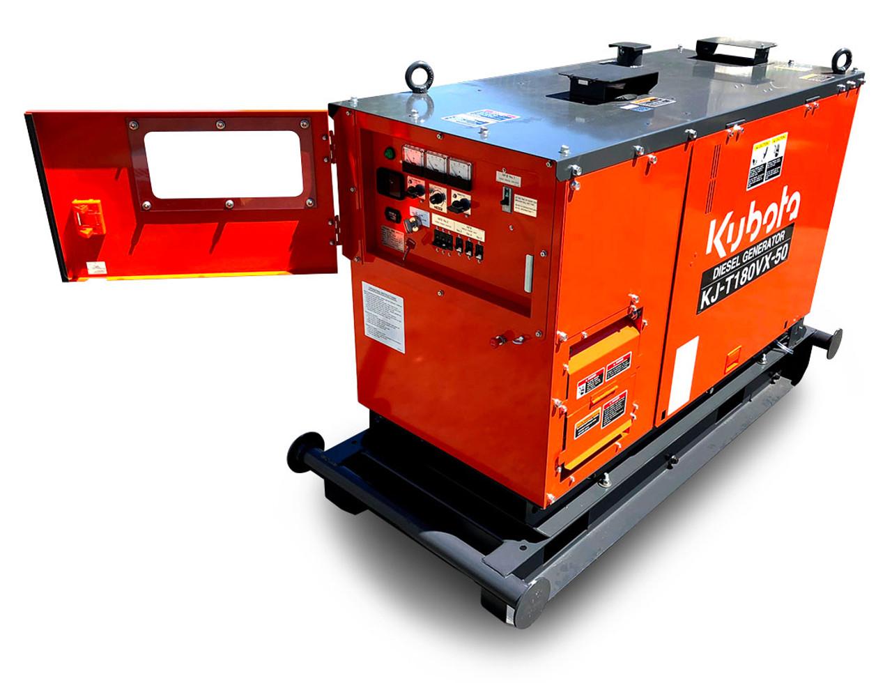 Kubota Generator - 18KVA 3 Phase- KJT180VX