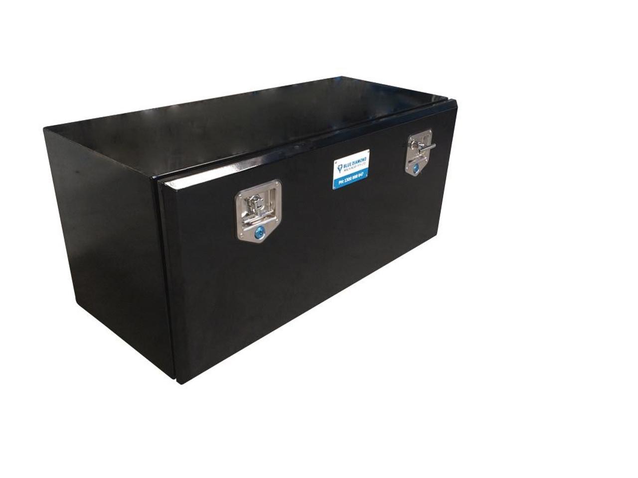 underbody black steel tool box for UTE or Truck