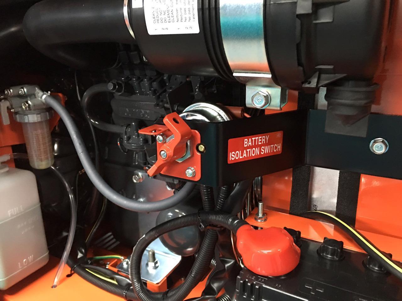 8KVA Lowboy Generator is a single phase engine