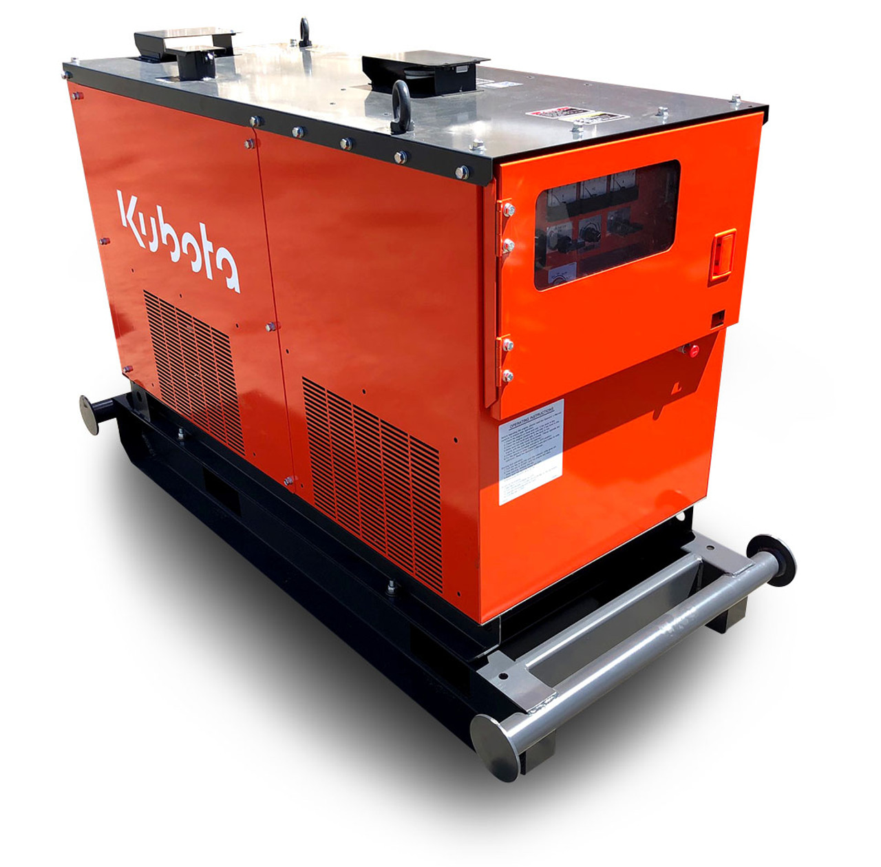 Renowned Kubota diesel engine, KJ series quieter and more efficient