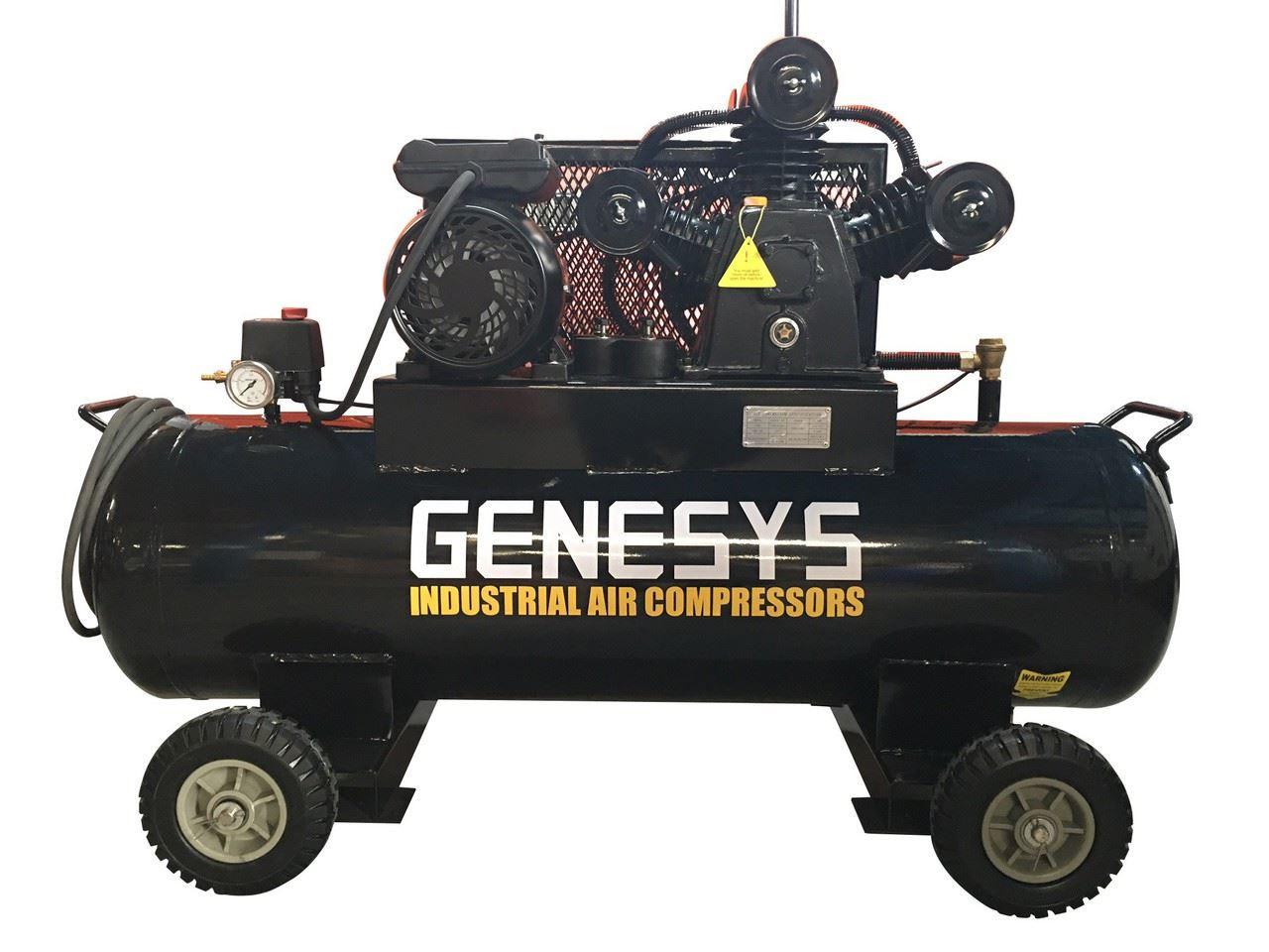 Piston Air Compressor- Electric 4HP 18 CFM 120L 125 PSI