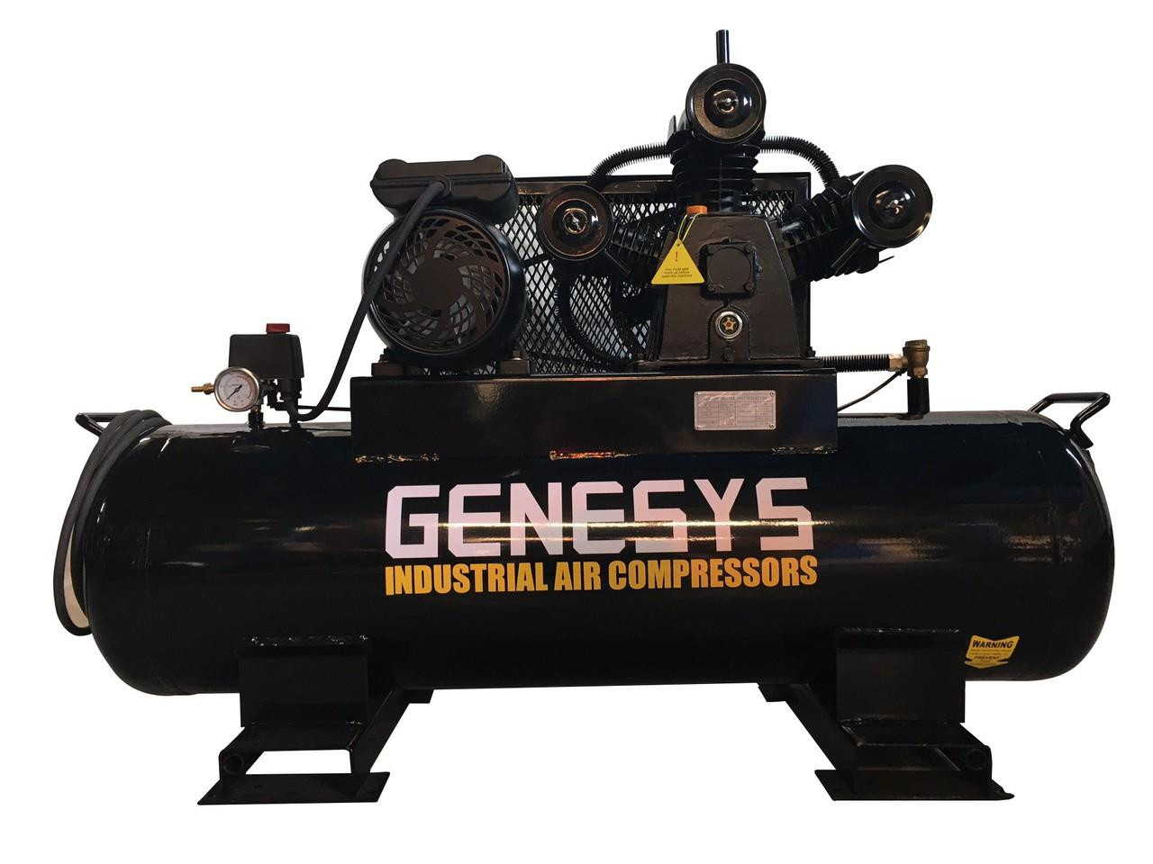 Compressor - 3 Cylinder Cast Iron Pump