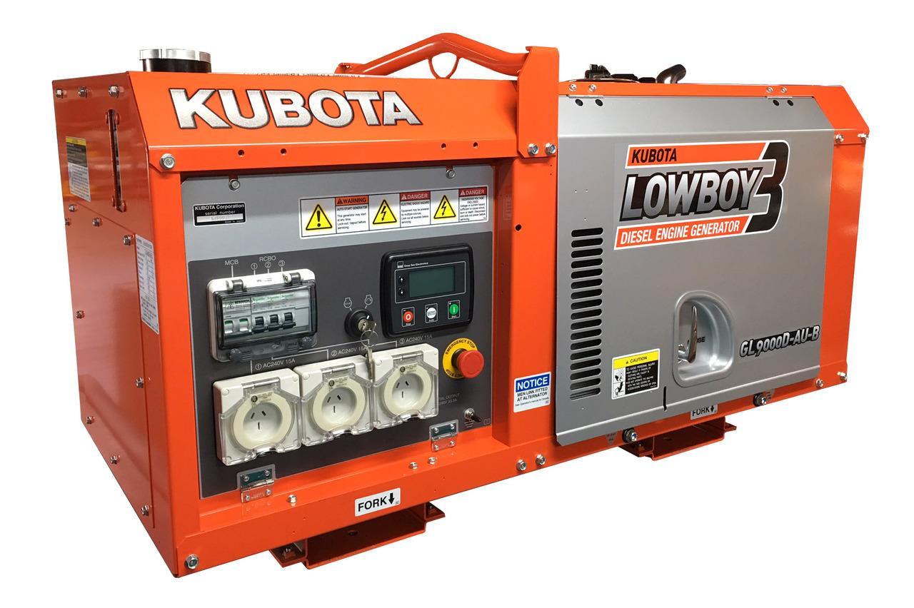 Kubota Generator Lowboy - Mobile Food Van