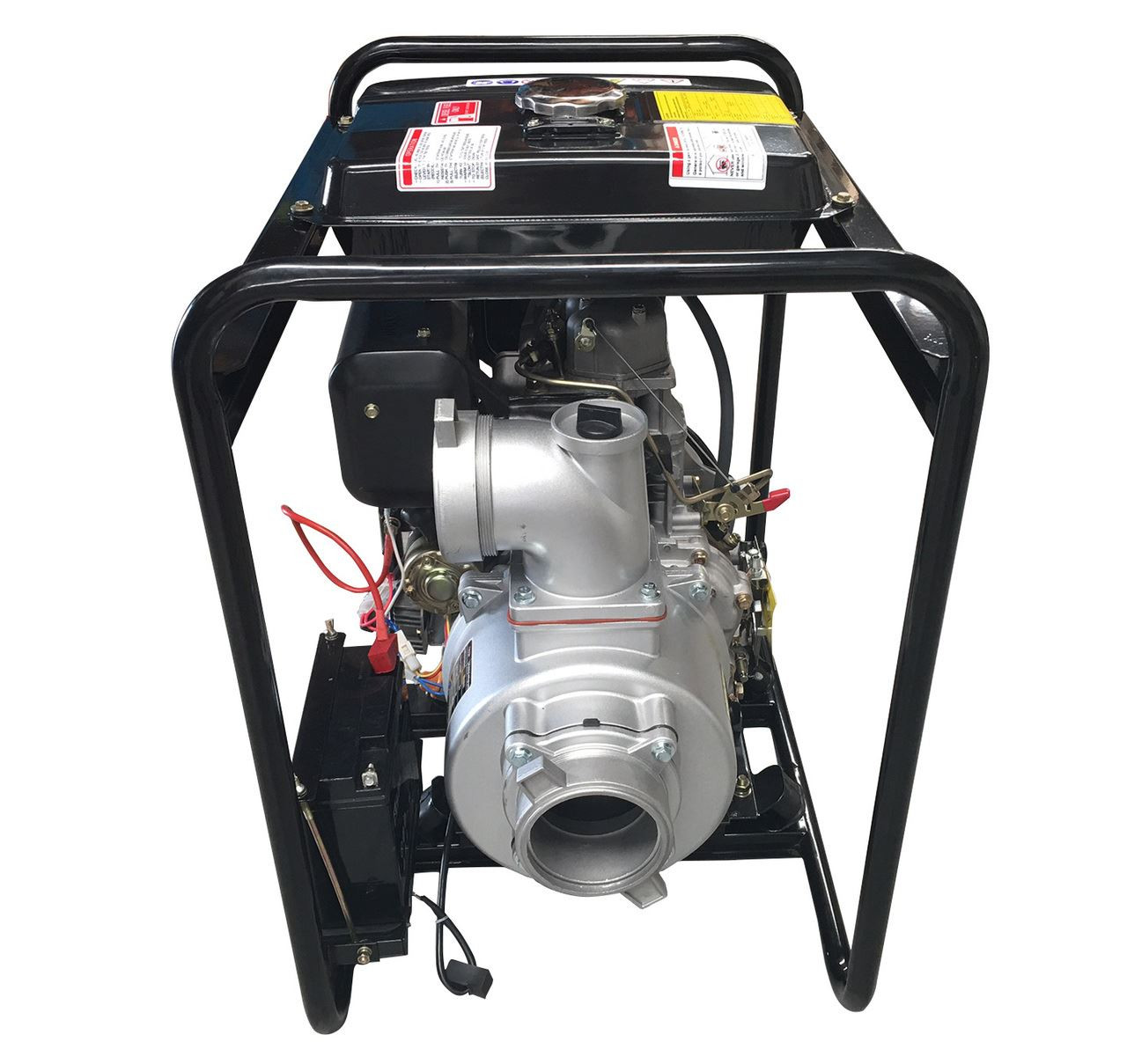 4'' Diesel Water Transfer Pump-10HP-Electric Start