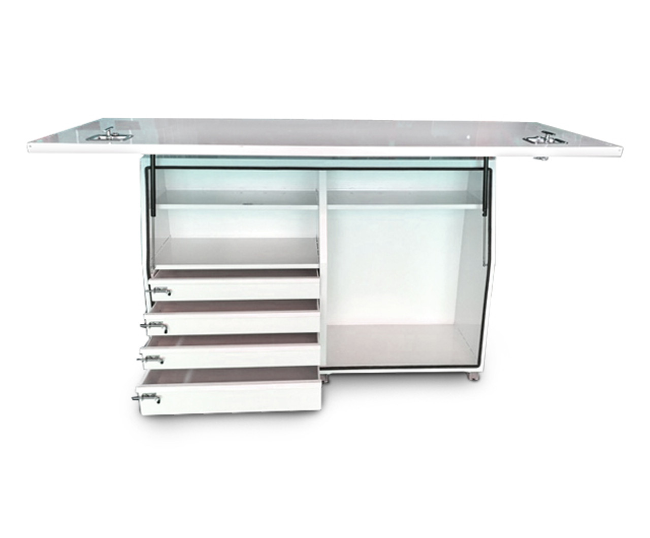 Truck Tool Box- Steel W1800- with Internal Drawers