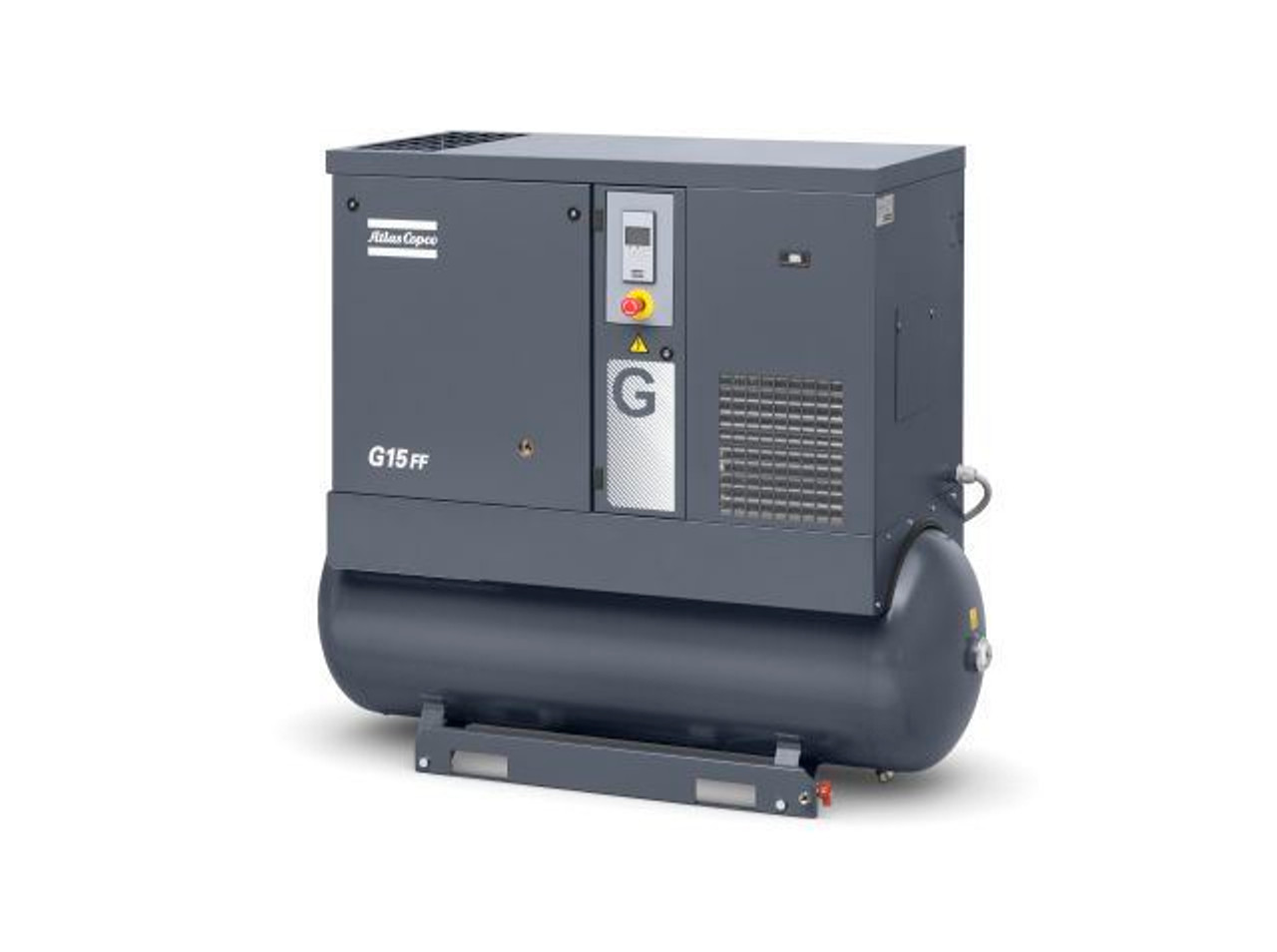 Tank Mounted Full Featured Screw Compressor