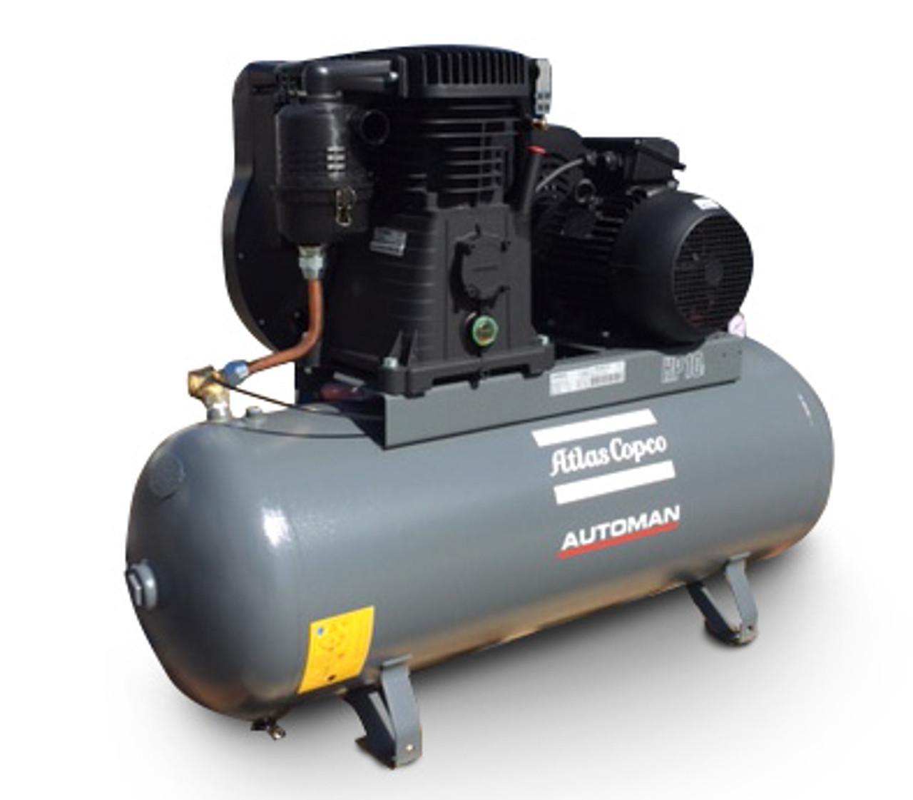 Industrial Air Compressor by Atlas Copco