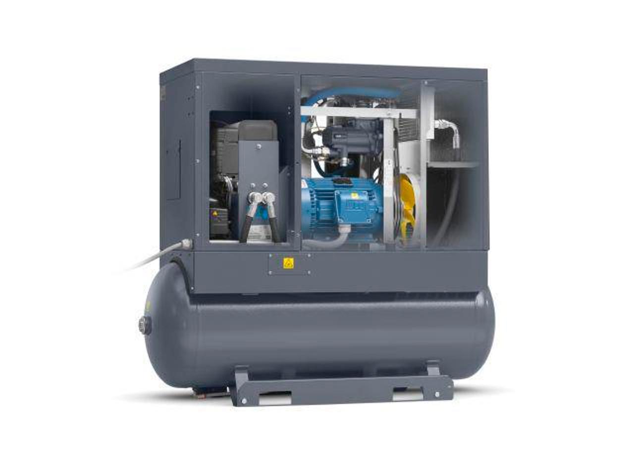Quite, Power, Efficient Screw Air Compressor by Atlas Copco