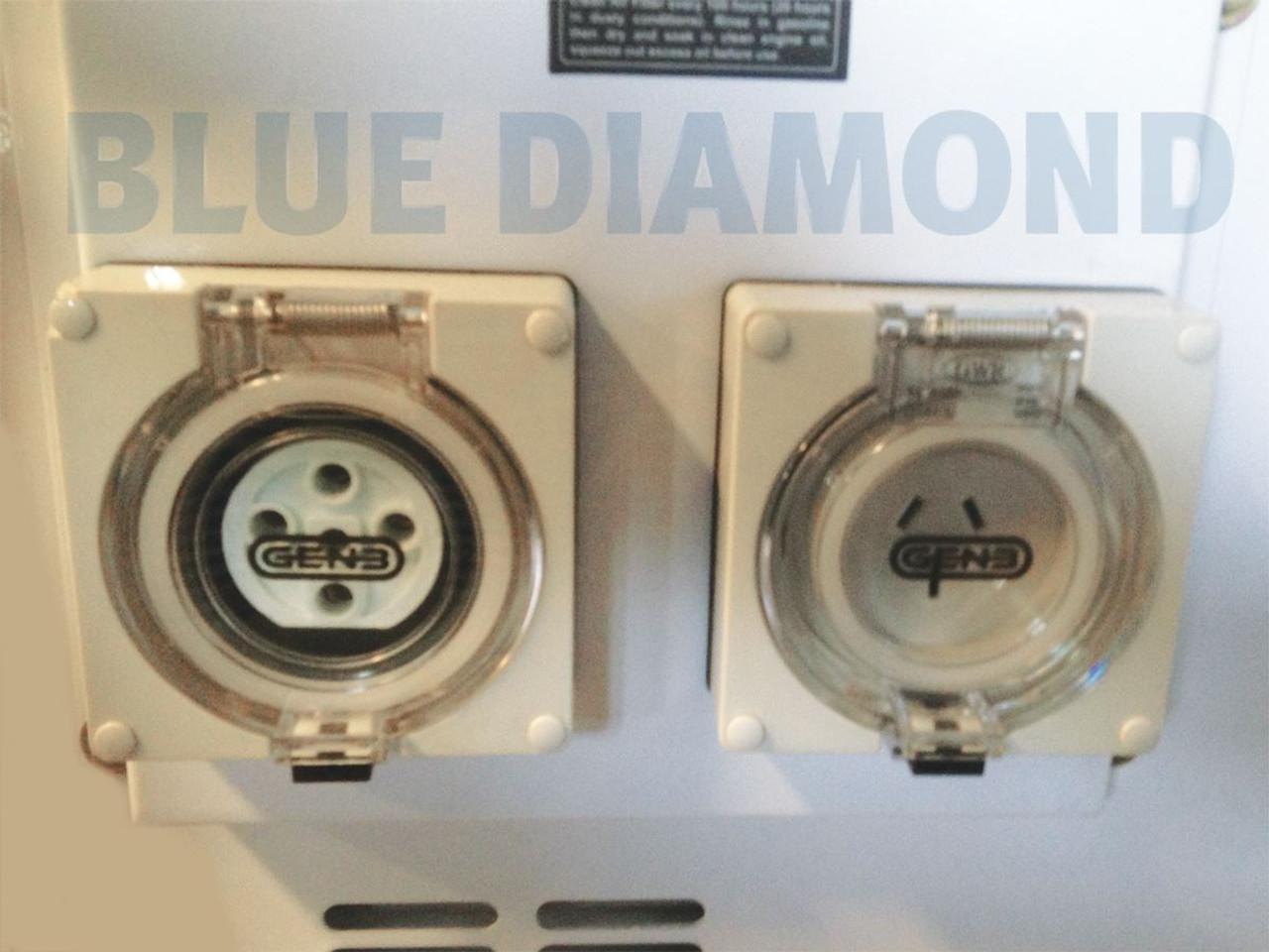 Electric Key Start Portable Diesel Generator