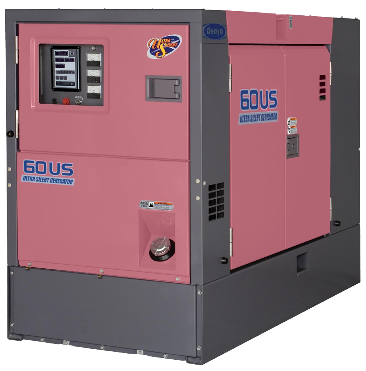 DENYO 60KVA Diesel Generator - 3 Phase - DCA-60USH2 - Ultra Silenced