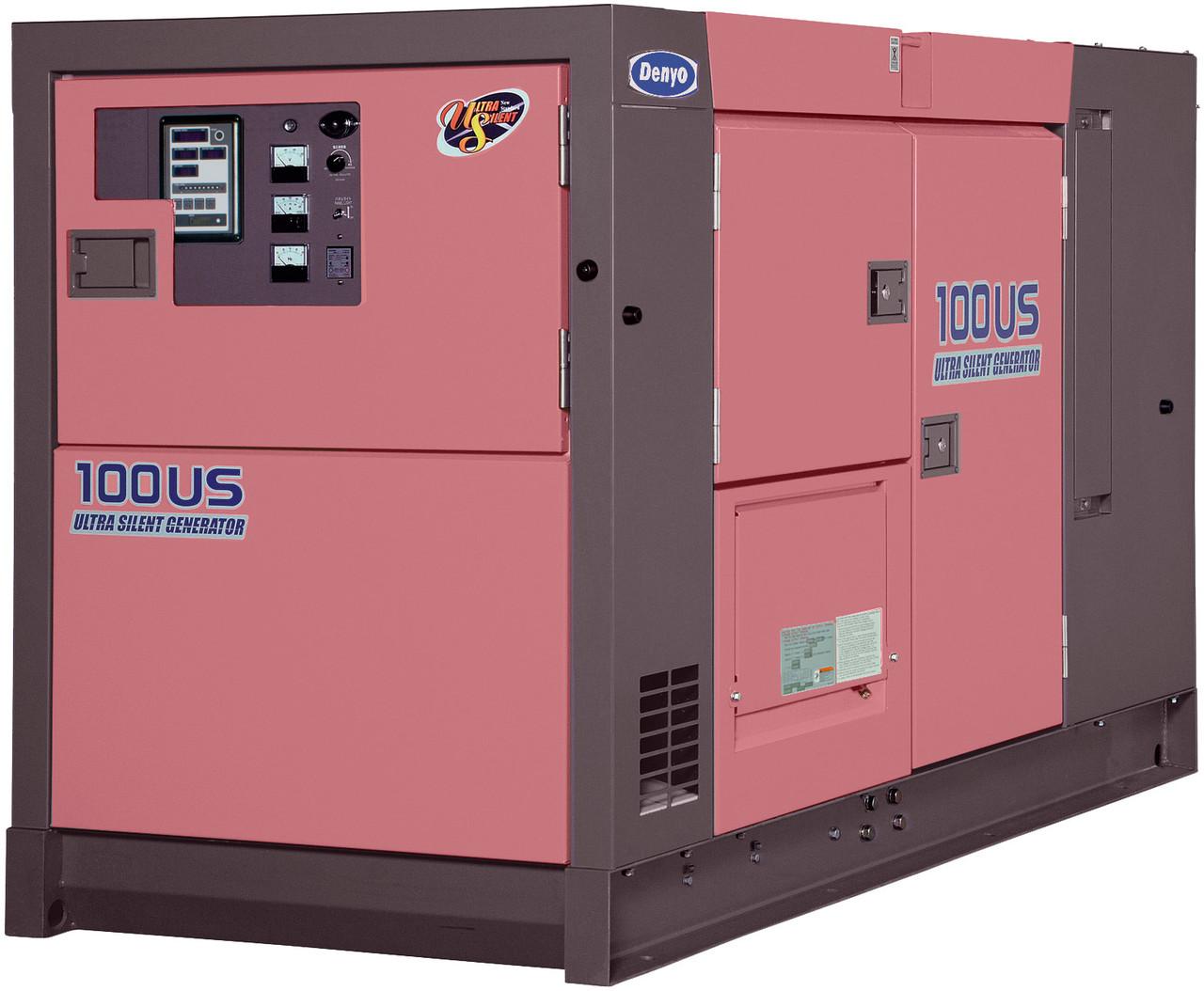 DENYO 100KVA Diesel Generator - 3 Phase - DCA-100USI - Ultra Silenced