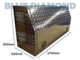 Tool Box Full Door W1700 Aluminium- Ute & Truck