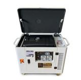 Portable Generator - Petrol 8KVA Silenced Canopy