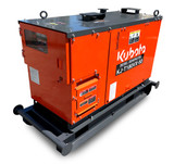 Kubota diesel generator is single sided access for quick inspection and maintenance