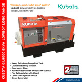 Lowboy Diesel Generator is compact, quiet and high quality