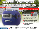 Inverter Generator - Genesys- 2.4 KVA & Box Combo