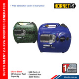 Hornet inverter comes in 2 different colours
