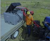 Diesel Fuel Tank 400L w/ 12V 40L/M Pump Kit - Pallet
