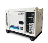 Portable Generator - 6.5 kVA Diesel Generator – Silenced Canopy