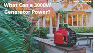 What Will a 3000 Watt Inverter Generator Run?