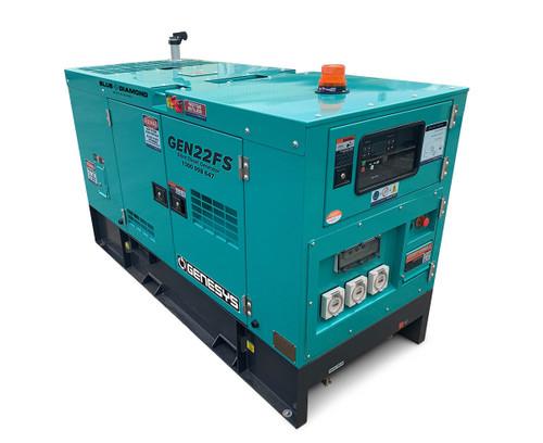 22 kVA Diesel Generator 240V Mine Spec