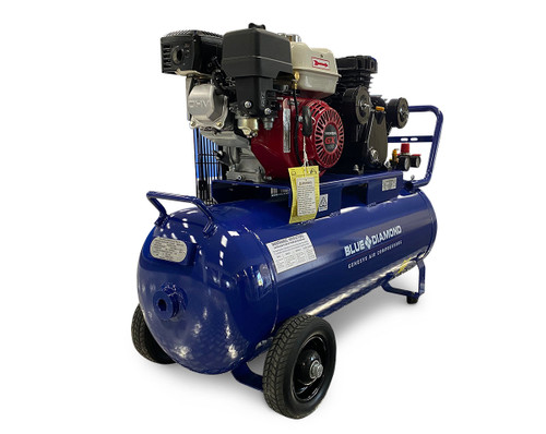 Piston Air Compressor- Honda 6.5HP 18 CFM 100L - 145 PSI