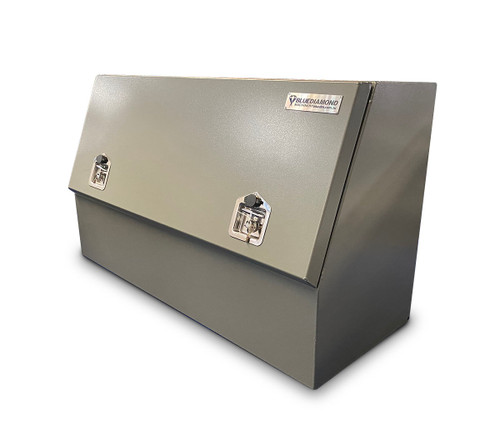 Tool Box Half Door W1210 Aluminium Powder  Coated - Ute & Truck - 3mm