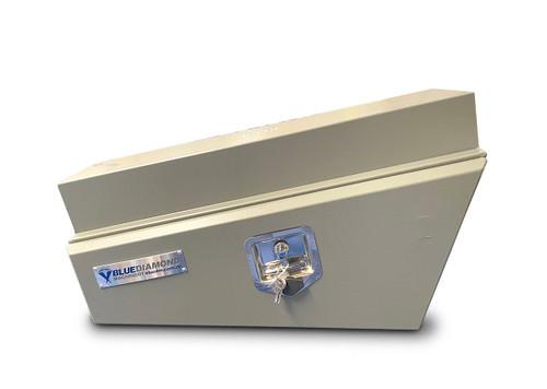 Underbody Tool Box RHS Aluminium Grey Powder Coated- Ute & Truck - 2mm