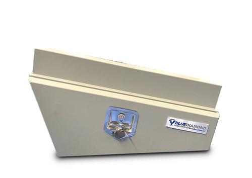 Underbody Tool Box LHS Aluminium Grey Powder Coated- Ute & Truck - 2mm