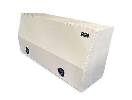 White Steel Mine Series Tool Box with Drawers- W1800