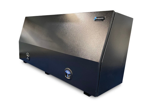Black Steel Mine Series Tool Box with Drawers- W1800