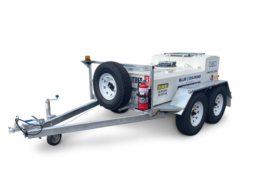 1000L Portable Self Bunded Diesel Trailer
