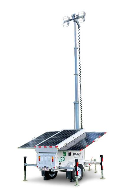Solar Lighting Tower 400 - 4x100W LED