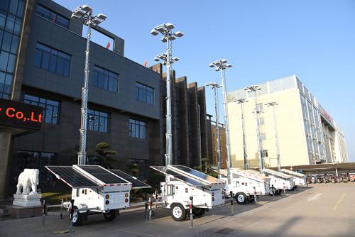 slt600 solar light tower fleet