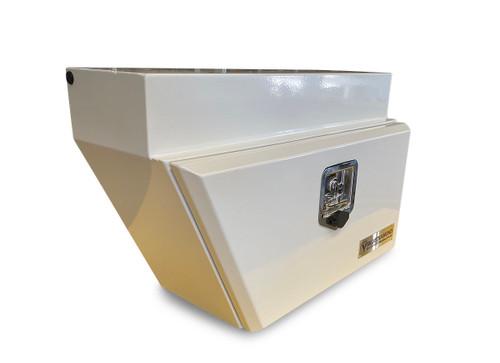 Underbody Steel Tool Box LHS White- Ute & Truck