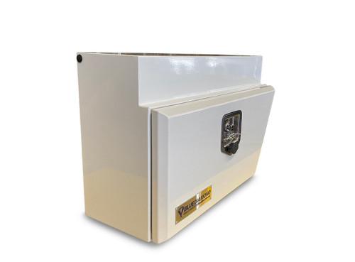 Underbody Steel Tool Box White RHS- Ute & Truck