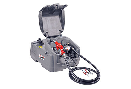 Diesel Fuel Tank 100L w/ 12V 40L/M Pump Kit