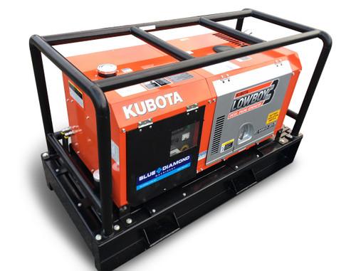 Kubota Generator - Lowboy - Mine Spec, Roll cage