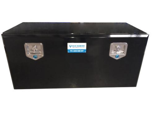 secure, heavy duty steel underbody tool box