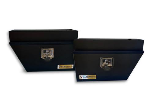 Underbody Black Steel Tool Box Combo- RHS & LHS