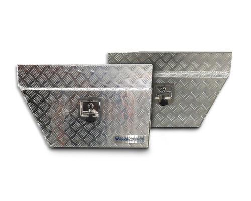 Underbody Aluminium Tool Box Combo RHS & LHS