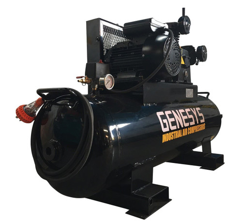 Piston Air Compressor- Electric, 4HP, 18 CFM, 120L