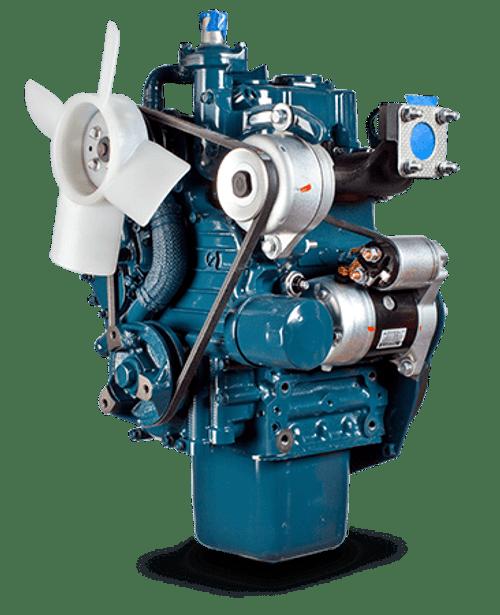 Kubota Engine Z482 - 12.5