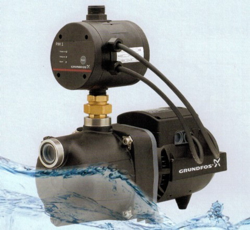 Grundfos JPC 4 Pump with PM1 Control 0.75kW
