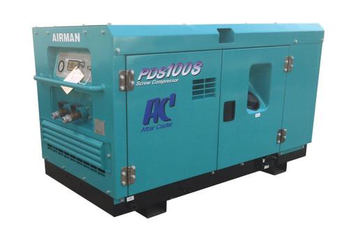 Used 100 CFM Diesel Air Compressor