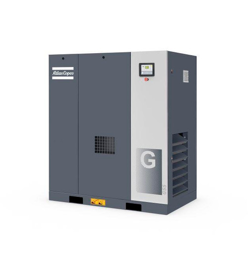 Rotary Screw G 45 Air Compressor- 60HP, 268.4CFM, 123PSI- Atlas Copco