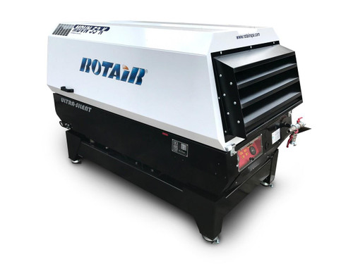 Skid Mounted Air Compressor- Rotair MDVN 53K
